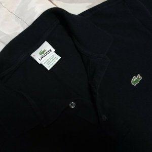 Lacoste Men's Navy Blue Short Sleeve Polo